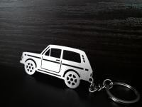 Брелок Метал ВАЗ 2121 Niva Lada 4х4