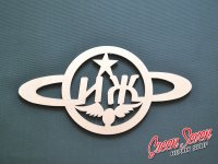 "Emblem for moto ""ИЖ"""