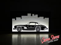 Lamp Mercedes SL300 LED Wall and table