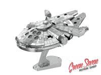 Металевий пазл Millennium Falcon