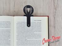 Закладка скріпка для книг Spiderman