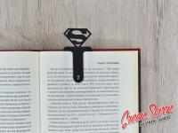 Закладка скріпка для книг Superman