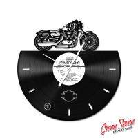 Годинник з вінілової платівки Harley Davidson XL Forty-Eight