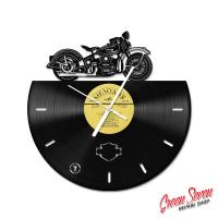 Годинник вініловий Harley Davidson EL Knucklehead