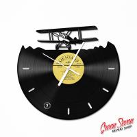 Годинник настінний Biplane Cropduster