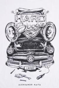 "Футболка ""Hard Boogie FM"" unisex"