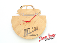 Годинник настінний Fiat Nuova 500