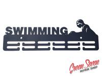 Вішак для медалей SWIMMING