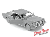 Металевий пазл Ford Mustang