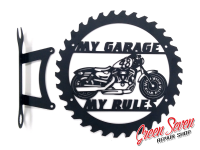 My Garage My rules Harley Davidson 48