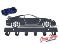 Вішак Nissan GTR метал
