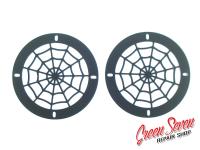 Flat Audio Grills Spider Web