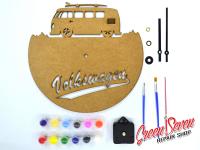 Годинник-розмальовка VW T1 Surf