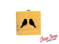 Jewelry box Cube Birds