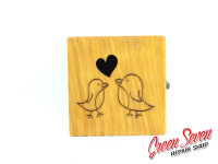 Jewelry box Cube Hen
