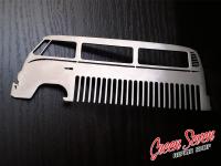 Metal Comb Volkswagen Bus Transporter
