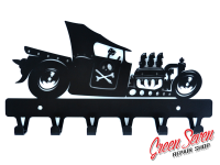 Hanger Hot Rod III Scull steel