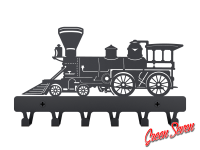 Hanger Steam locomotive metal