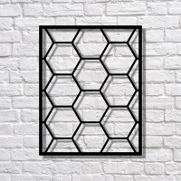 MoodBoard Pattern HoneyComb металевий