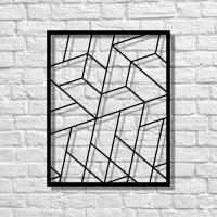 MoodBoard Pattern Leaf металевий
