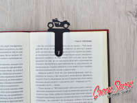 Закладка скріпка для книг Bike chopper