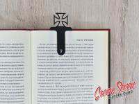 Закладка скріпка для книг Iron Cross