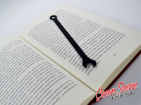 Bookmark for book Tool wrenches
