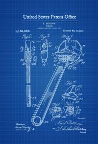 """Постер вініловий """"Wrench"""""""