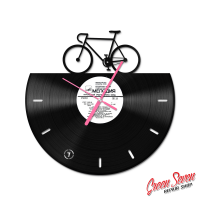 Clock Bicycle Fixie