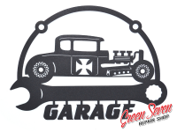 Signboard Garage Hot Rod Coupe
