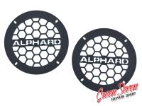 Flat Audio Grills Alphard Honeycombs