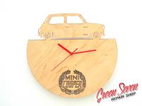 Годинник настінний Mini Cooper