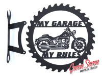 My Garage My rules Harley Davidson