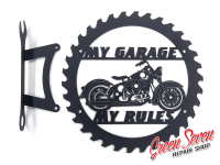 My Garage My rules HD Duo-Glide