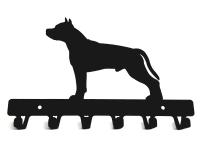 Hanger Staffordshire Terrier metal