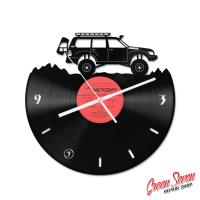 Годинник настінний Toyota Land Cruiser