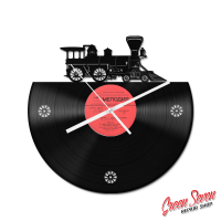 Clock Steem Train