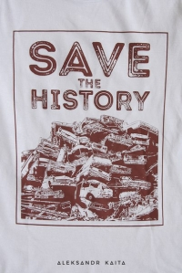 "T-shirt ""Save the history"" women"