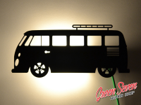 Lamp Volkswagen Samba Wall table