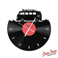 Clock Volkswagen Transporter Surf
