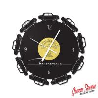 Годинник настінний Запорожець 966 Circle