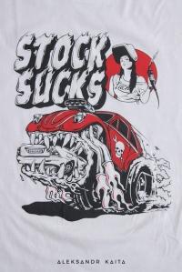 """Футболка """"Stock Sucks"""" unisex"""