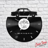 Годинник з вінілової платівки ВАЗ 2103 Жигули